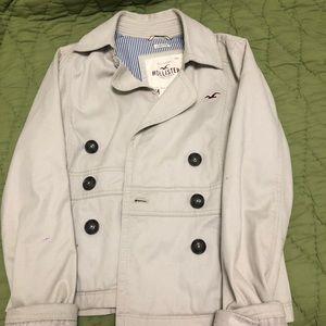 Hollister cream jacket